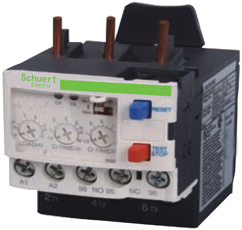热继电器和停止按钮实物接线图